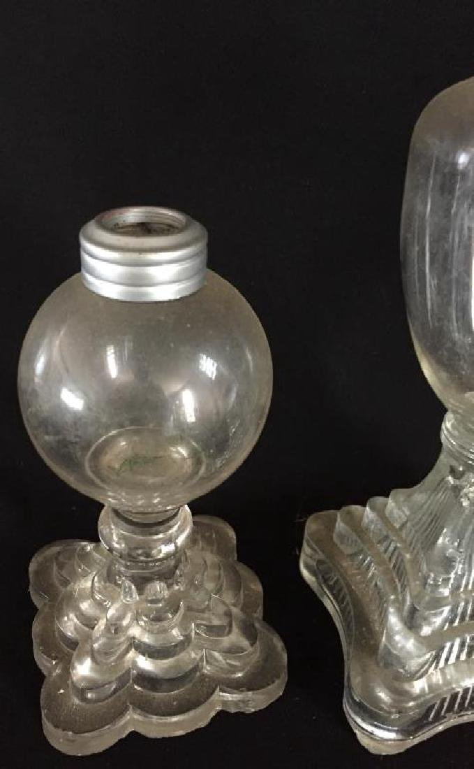 FOUR WHALE OIL LAMPS - 7