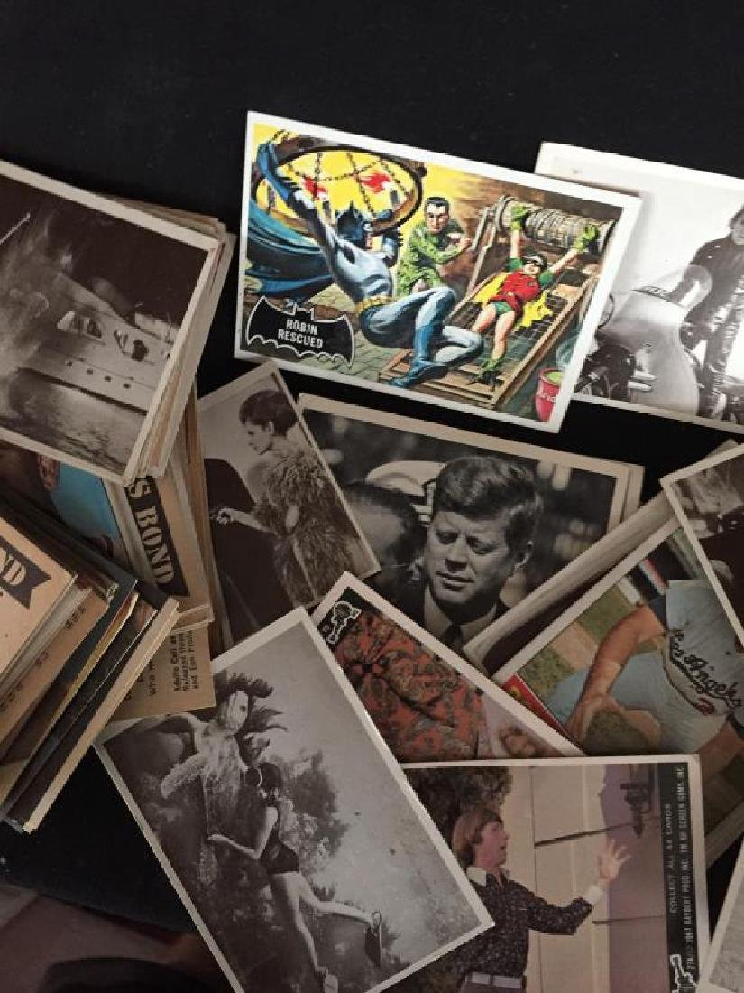 GROUP OF COLLECTOR CARDS POP CULTURED THEMED - 2