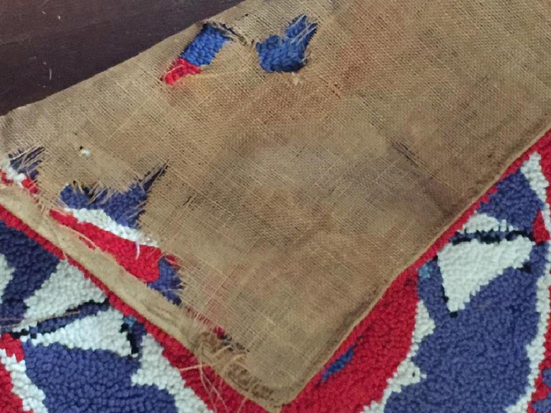 HOOKED RUG with SAILBOATS - 3