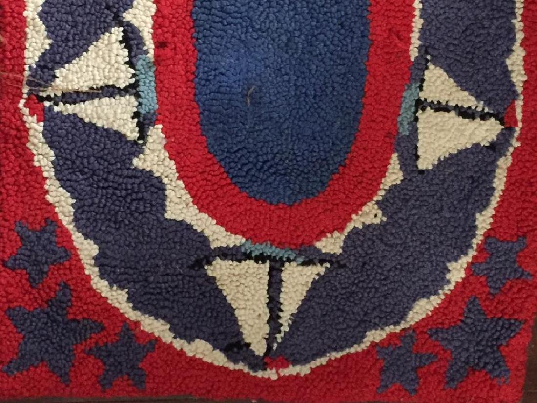 HOOKED RUG with SAILBOATS - 5