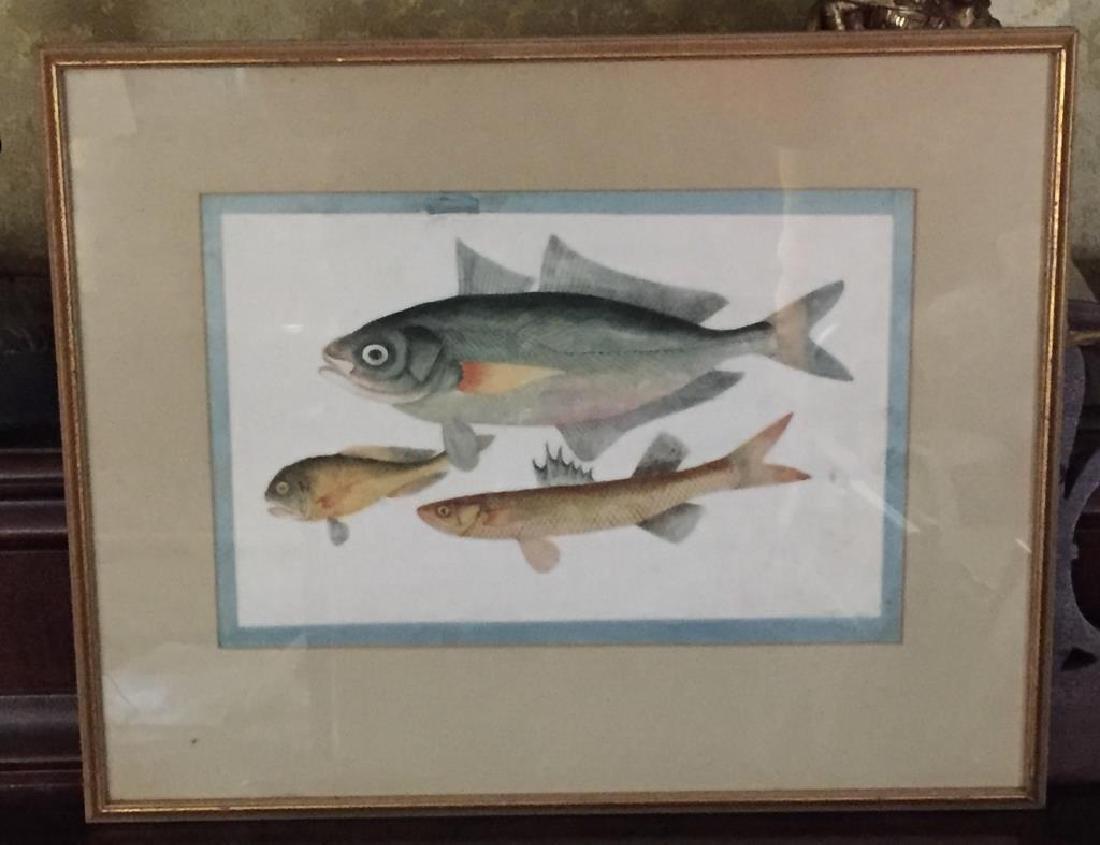 ASIAN FISH PAINTING