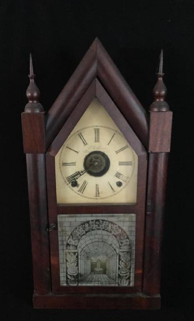 VICTORIAN STEEPLE CLOCK