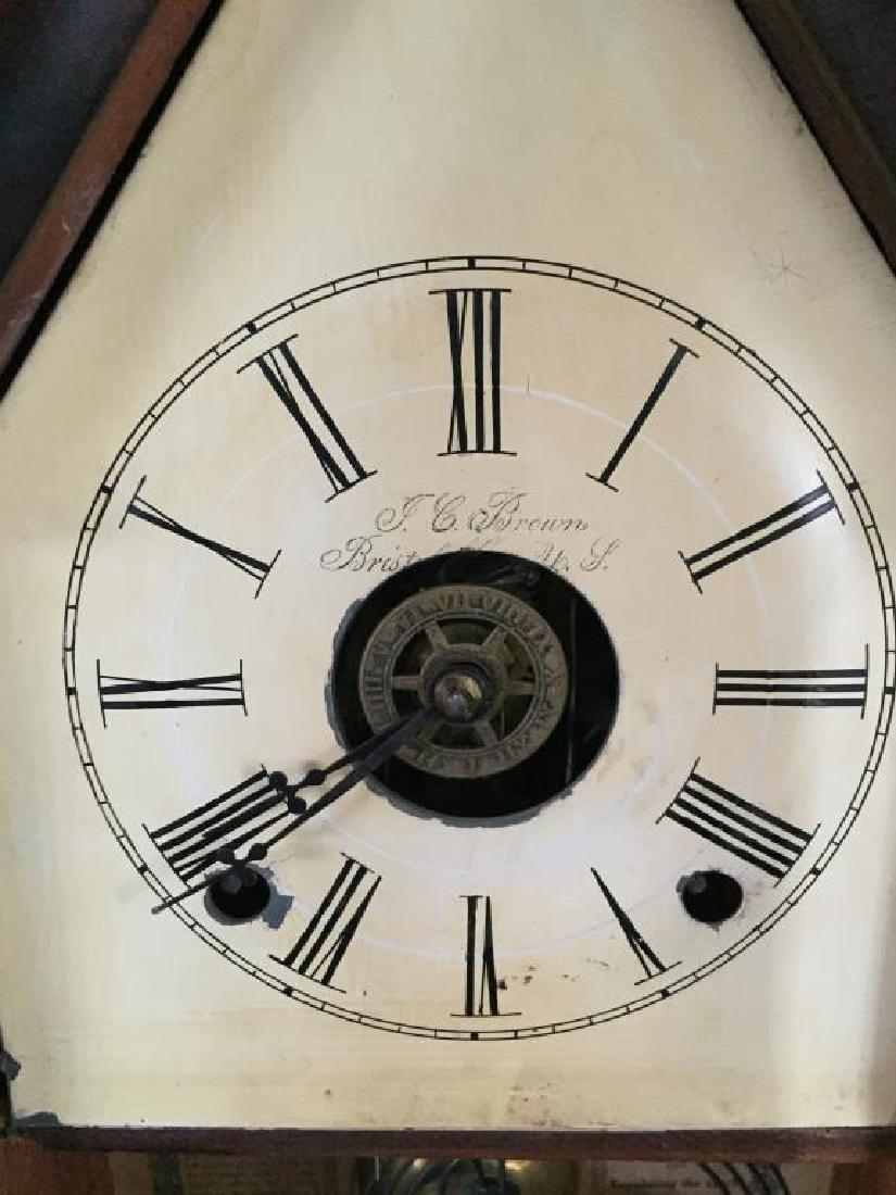VICTORIAN STEEPLE CLOCK - 5