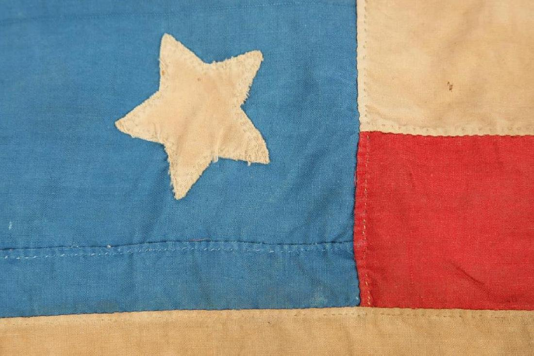 VERY EARLY THIRTEEN STAR AMERICAN FLAG - 10