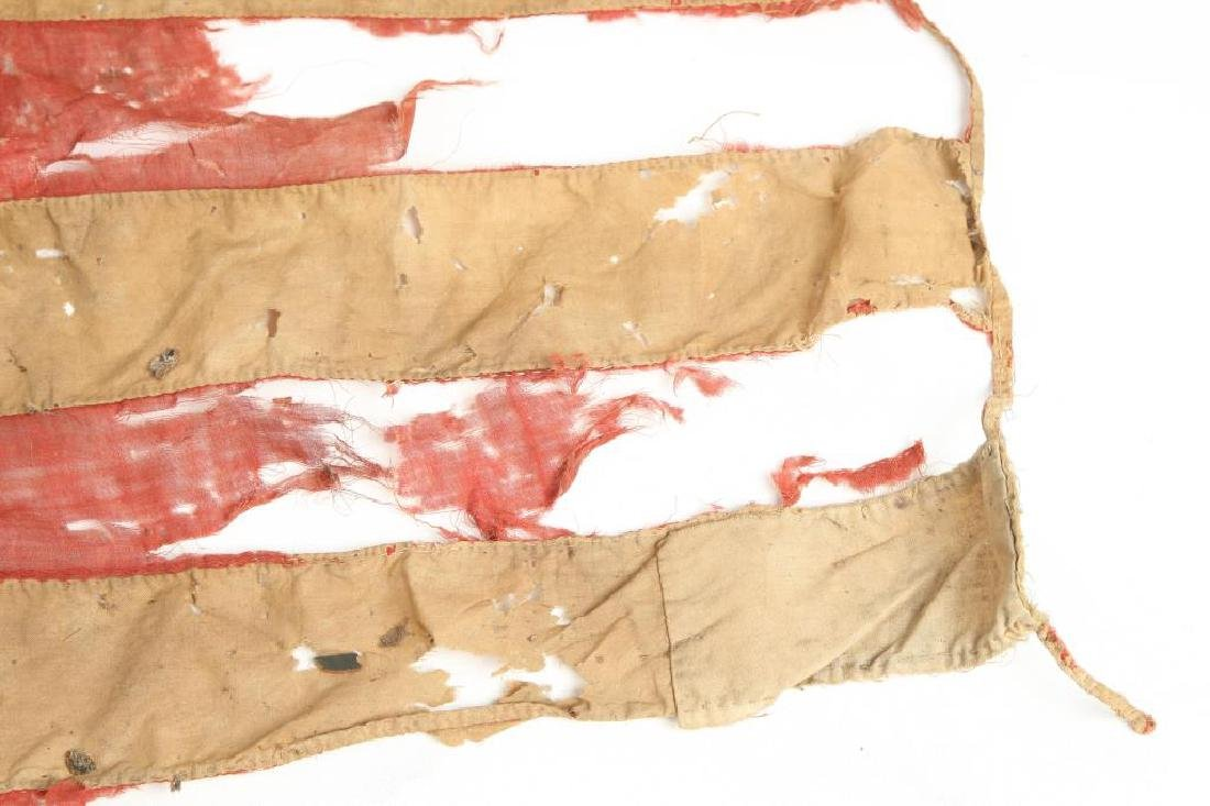 VERY EARLY THIRTEEN STAR AMERICAN FLAG - 6