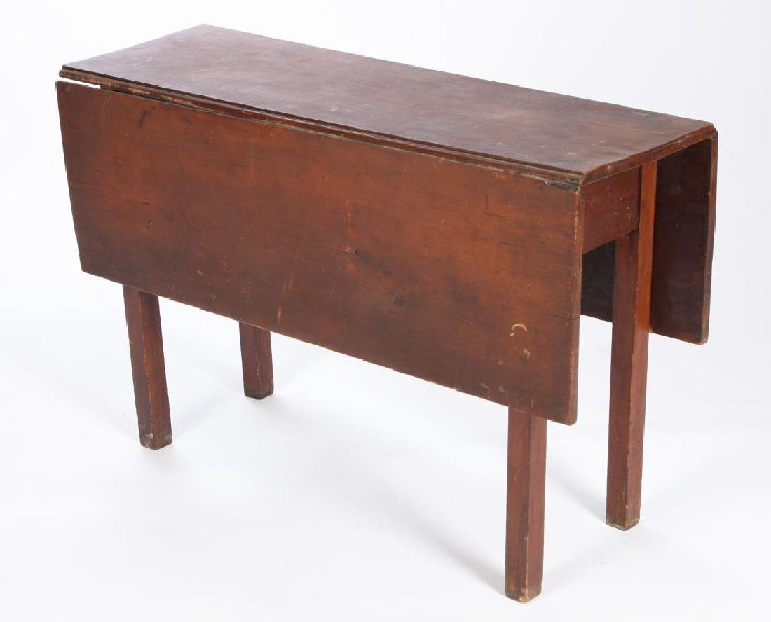 PERIOD CHIPPENDALE COUNTRY DROP LEAF TABLE