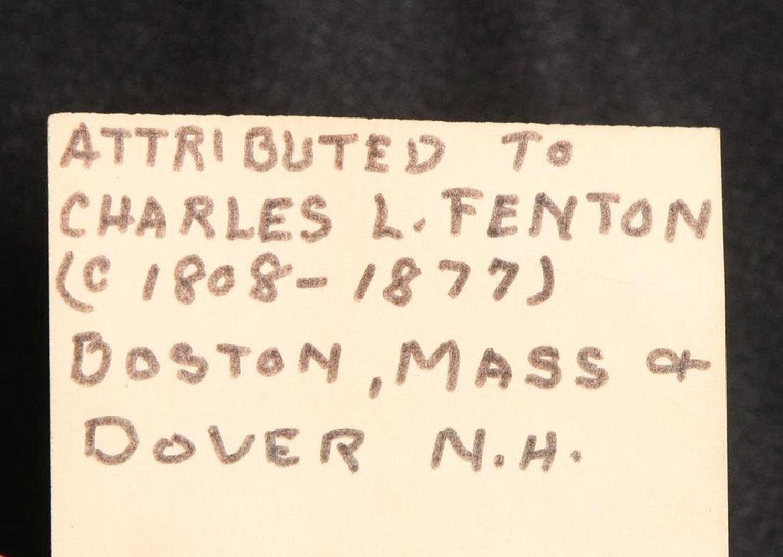 CHARLES L. FENTON (1808-1877) attributed - 3