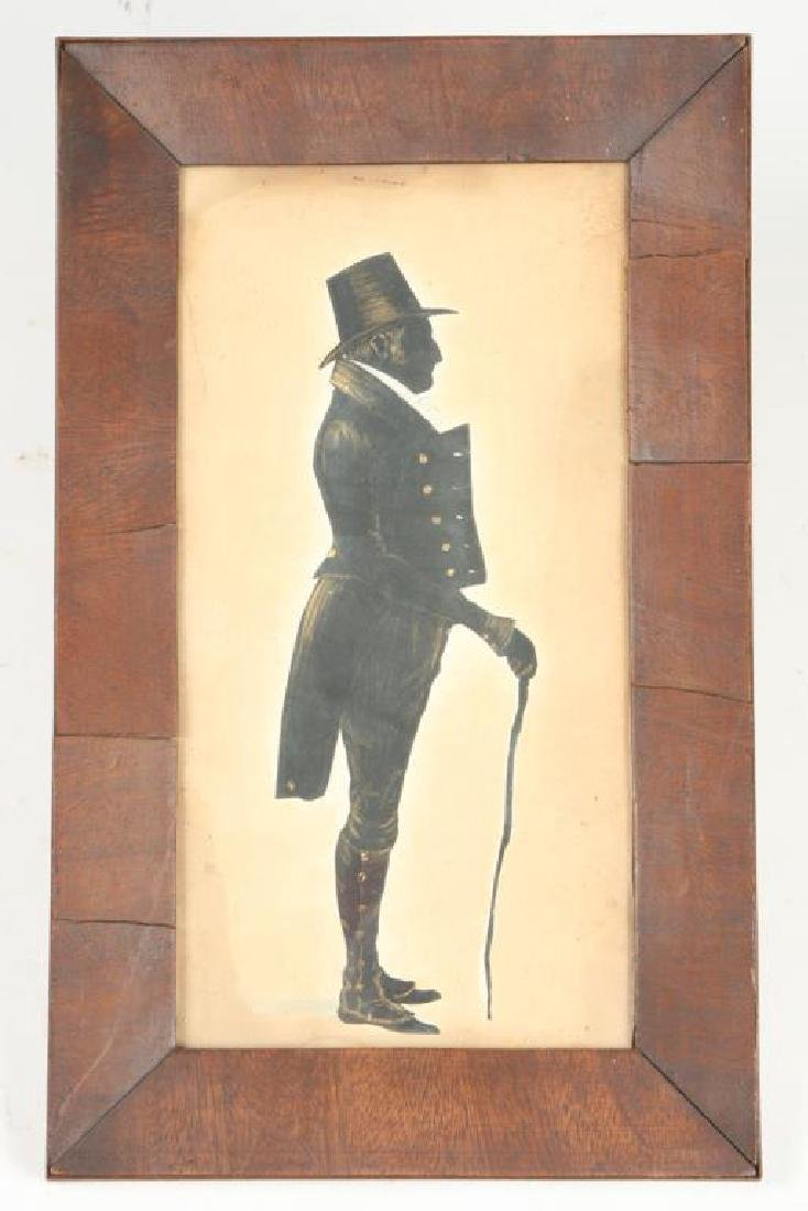 SILHOUETTE OF JAMES BURGESS born 1771.