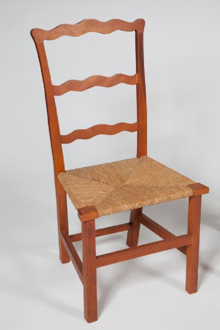 (4) RIBBON BACK SIDECHAIRS TYPICAL OF NEWBURYPORT - 4