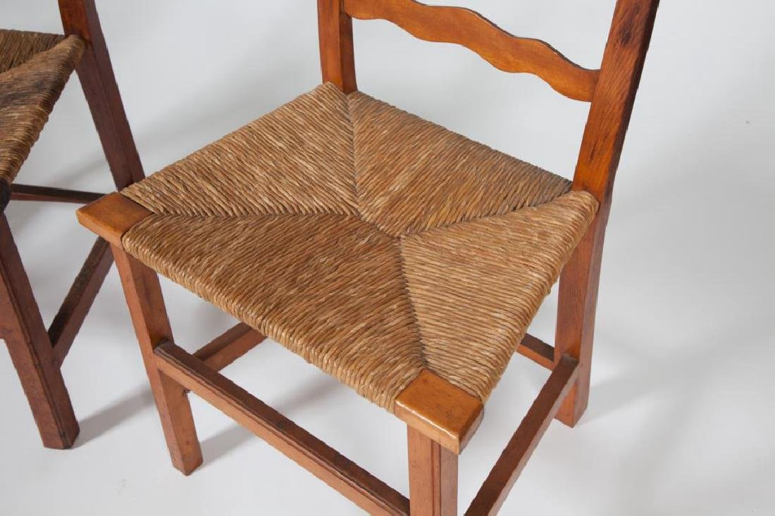 (4) RIBBON BACK SIDECHAIRS TYPICAL OF NEWBURYPORT - 6
