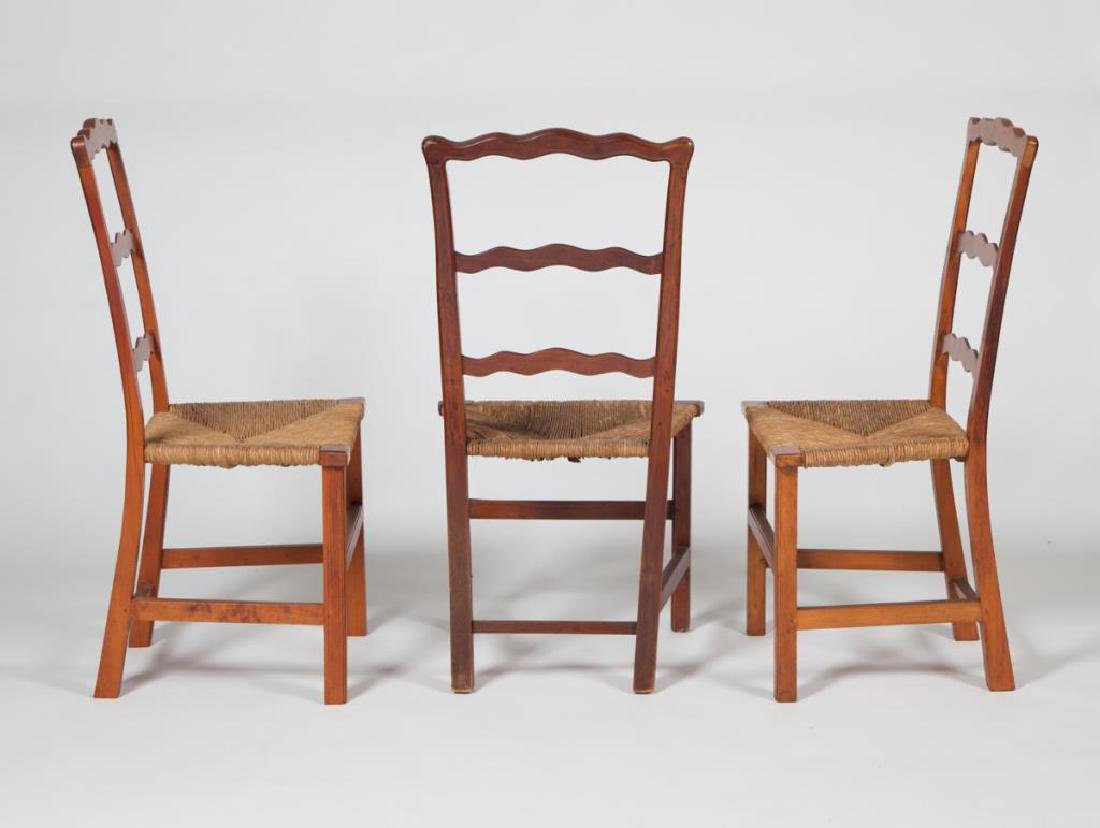 (4) RIBBON BACK SIDECHAIRS TYPICAL OF NEWBURYPORT - 9