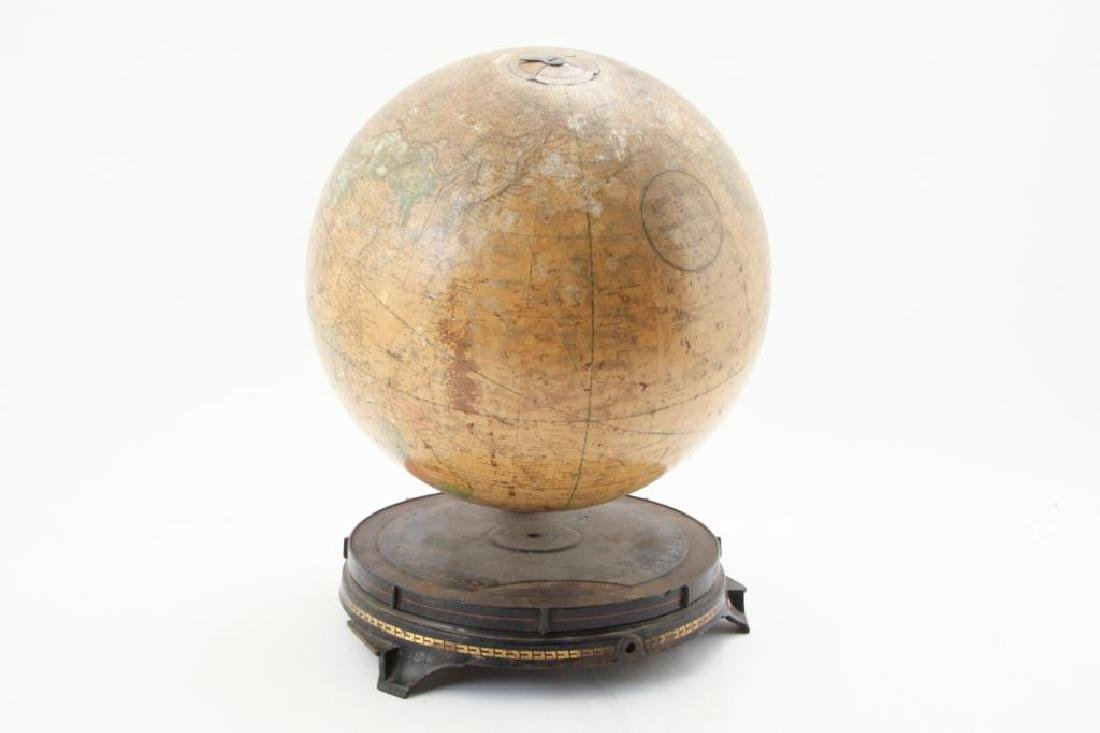 FITZ GLOBE MANUFACTURED by GINN BROTHERS 1879