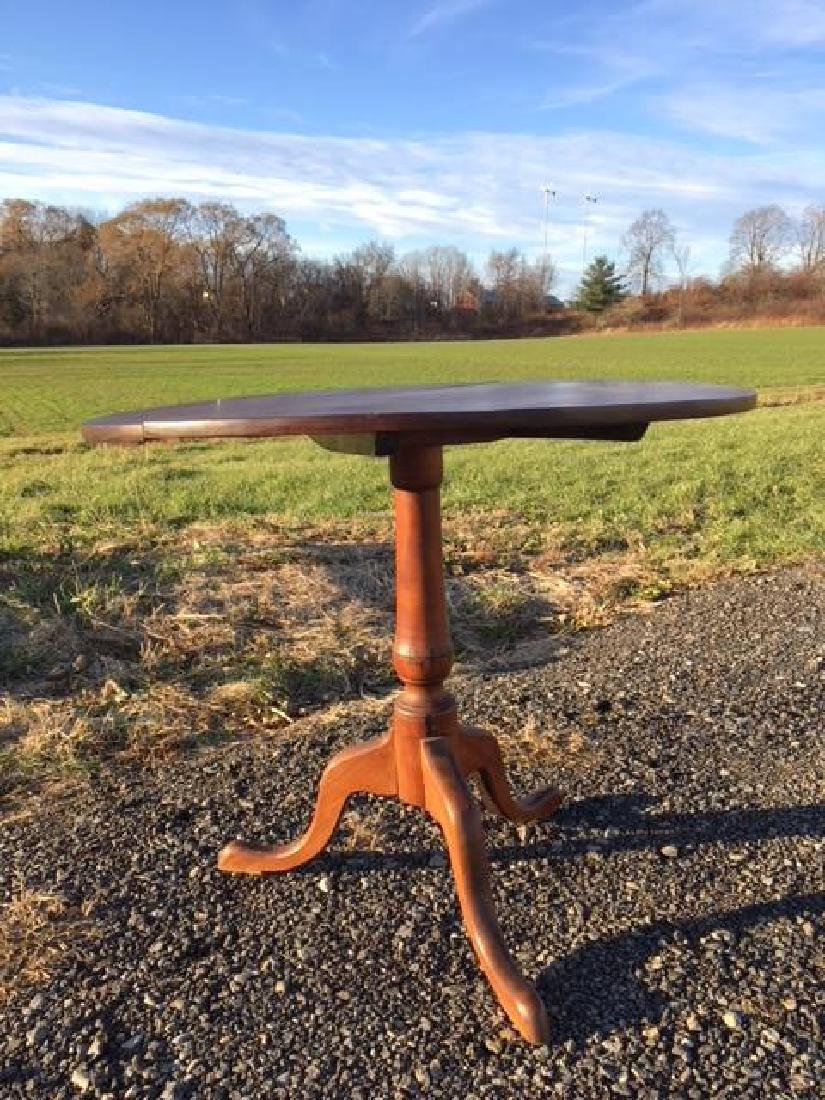 CHIPPENDALE BIRCH TIP TOP BREAKFAST TABLE