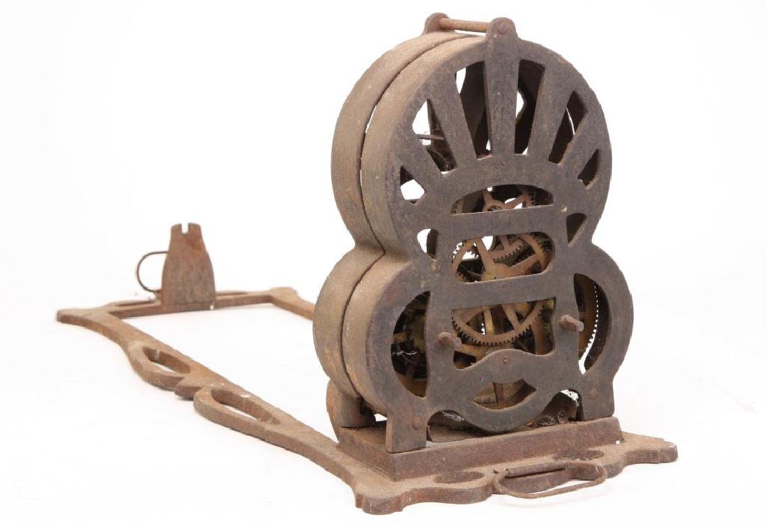 """1863 CAST IRON SPRING WOUND """"AMERICAN ROASTER"""""""