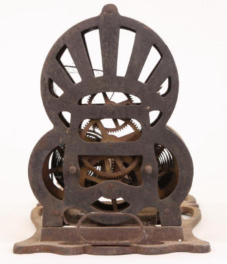 """1863 CAST IRON SPRING WOUND """"AMERICAN ROASTER"""" - 2"""