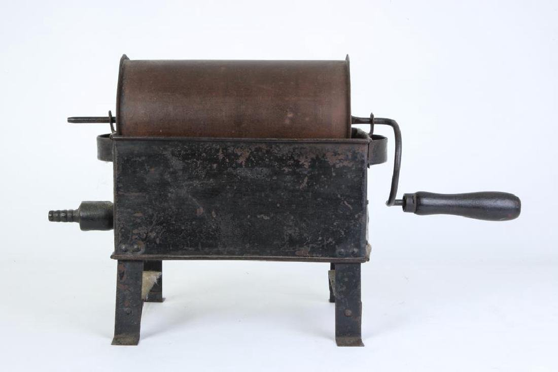 ANTIQUE GAS COFFEE ROASTER