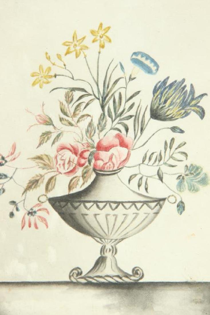 (Early 19th c) STILL LIFE OF FLOWERS in a VASE - 2