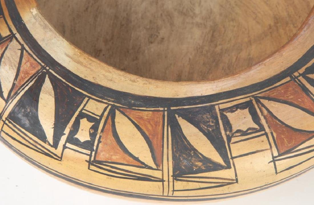 SOUTHWEST NATIVE AMERICAN INDIAN BOWL - 2