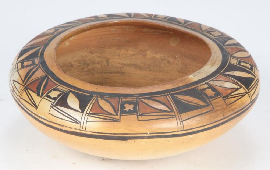 SOUTHWEST NATIVE AMERICAN INDIAN BOWL - 4