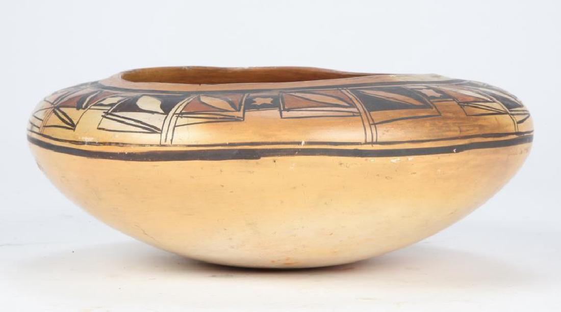 SOUTHWEST NATIVE AMERICAN INDIAN BOWL - 5