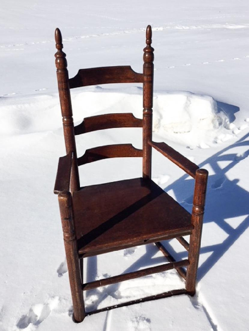 "ATTWILL FURNITURE CO. ""CARVER"" GREAT CHAIR"