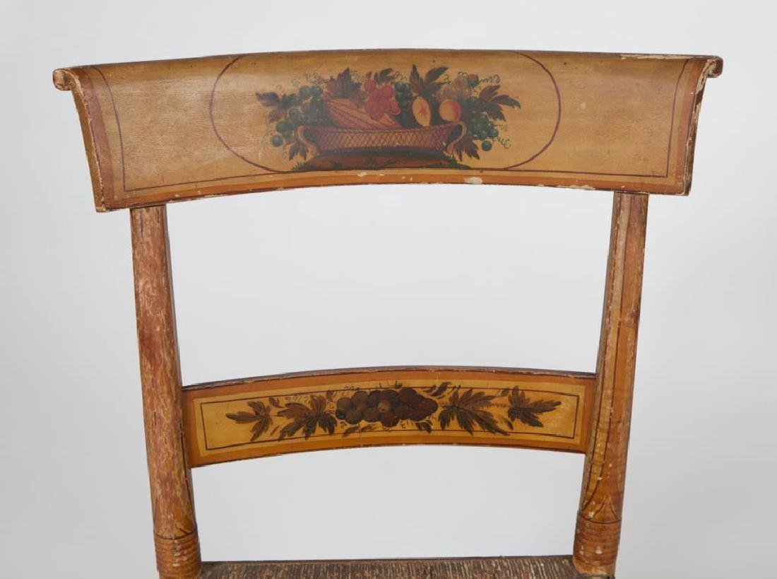 PAIR OF FINELY PAINTED HITCHOCK SIDE CHAIRS - 5
