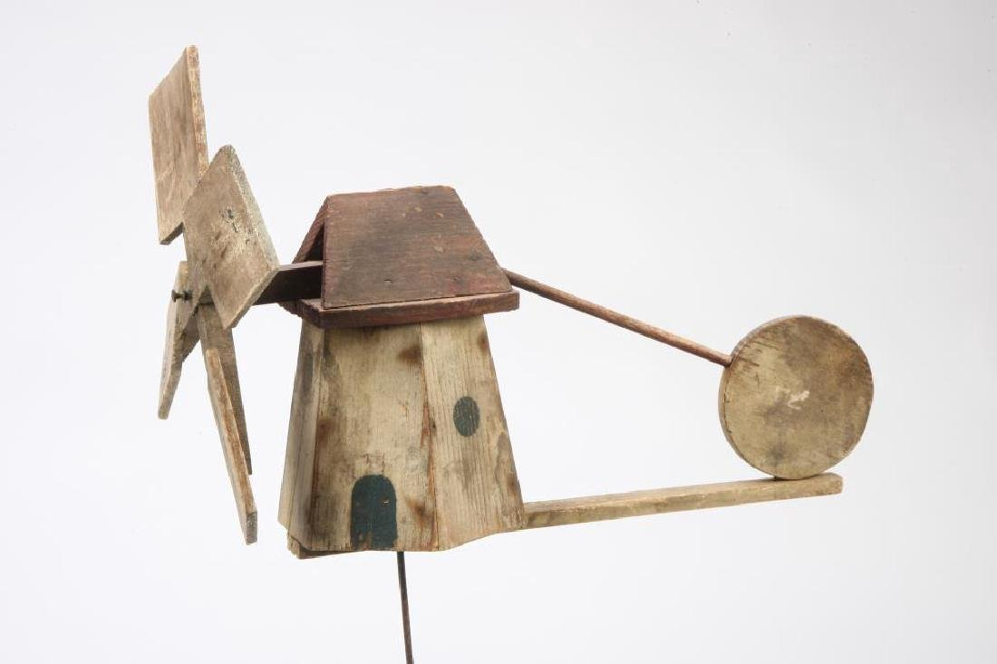 VINTAGE FOLK ART WIND MILL WHIRLYGIG - 4