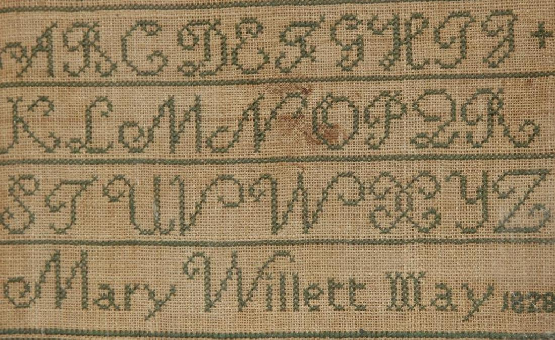 (3) SAMPLERS with TIES TO IPSWICH,MA / CHOATE etc - 6