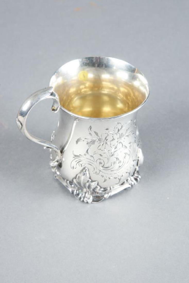 GEORGE JOHN RICHARDS STERLING SILVER CUP