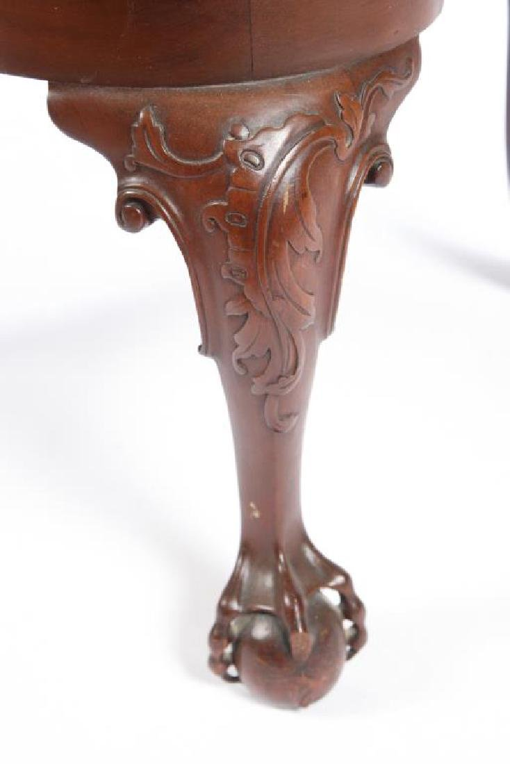 FINELY CARVED CENTENNIAL MAHOGANY ARMCHAIR - 5
