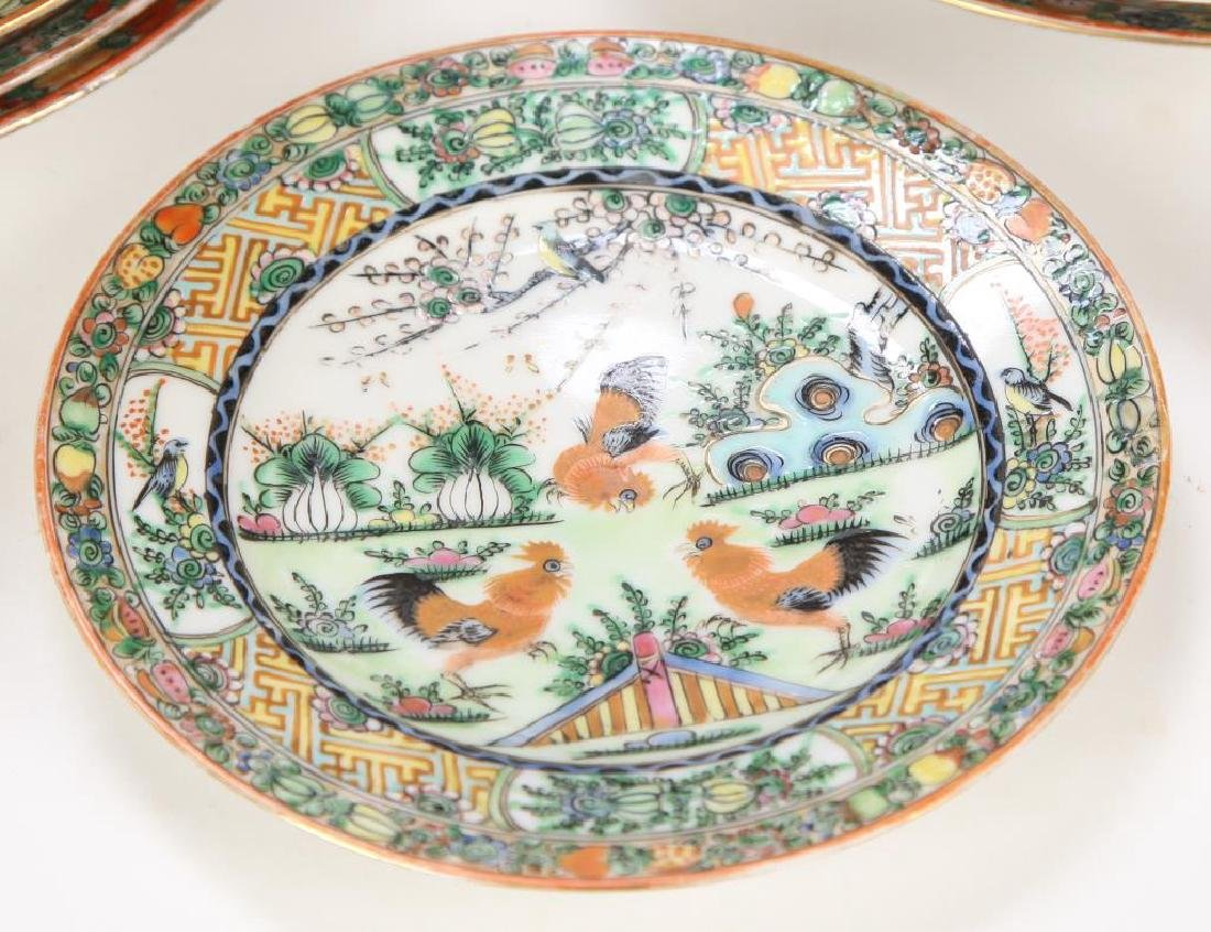 (20th c) CHINESE EXPORT PORCELAIN PLATES - 7