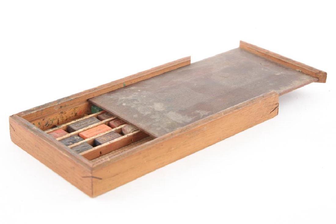 GEORGE OSBORNE/ PHILADELPHIA WATERCOLOR SET 1826