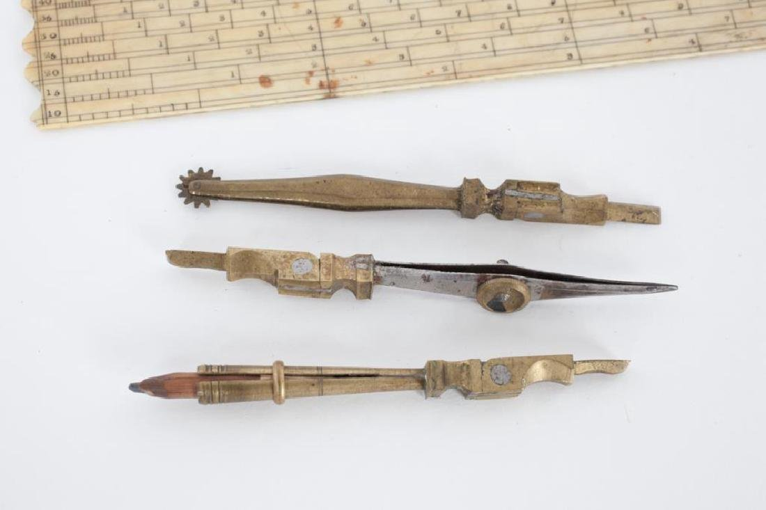 (18th/ 19th c) SHAGREEN ETUI DRAWING SET - 3