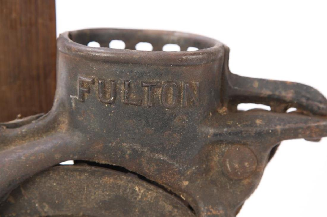 FULTON SHELLER, SPOKE PLANES, LEVEL & DRILL PRESS - 7