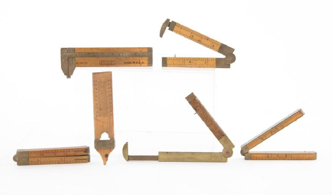 (6) EARLY CALIPERS, RULERS AND PLUMB / STANLEY etc - 3