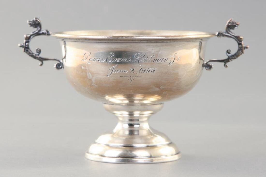 REED & BARTON STERLING SILVER LOVING CUP