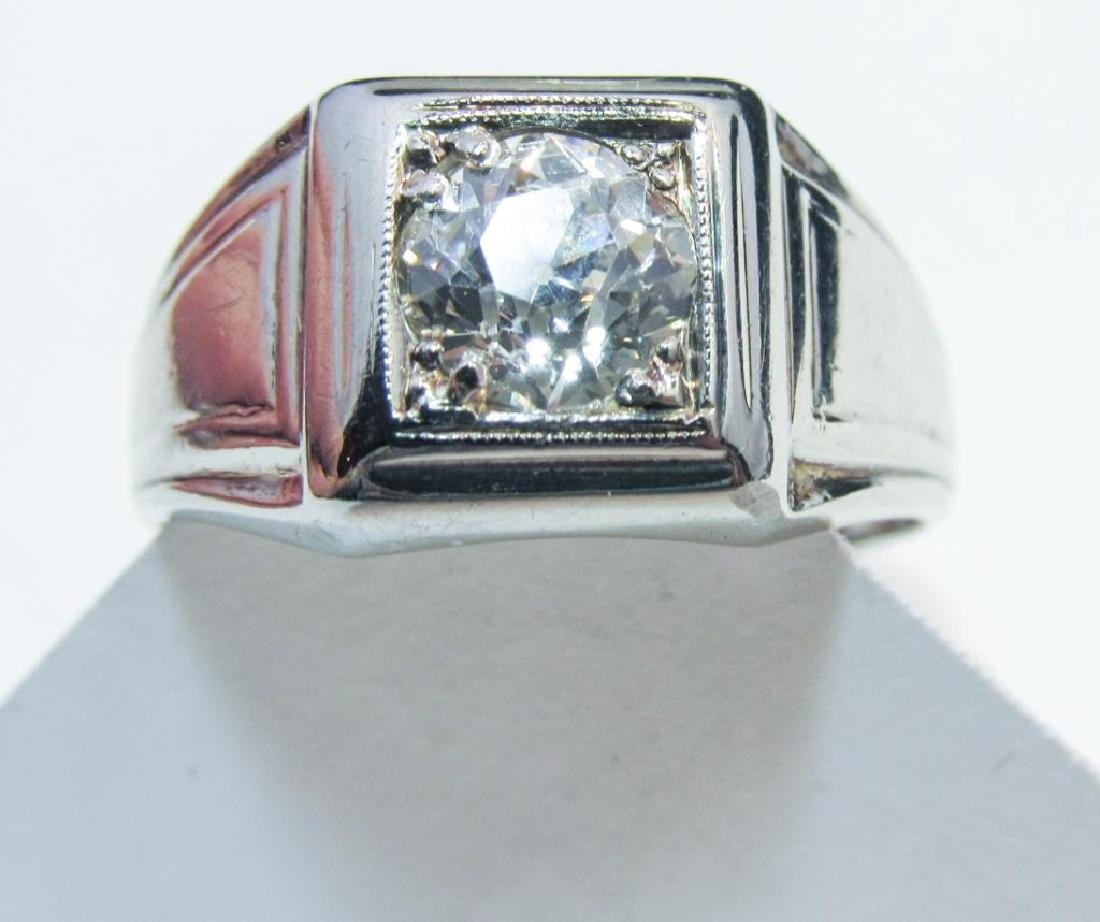 18K WHITE GOLD DIAMOND RING 1.25CT - 3