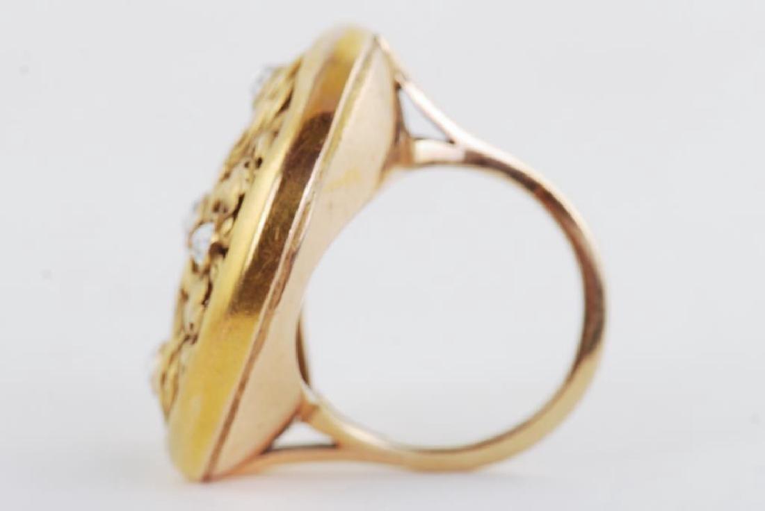 14k GOLD RING - 5