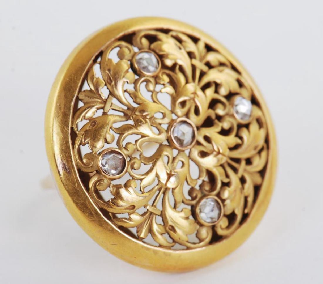 14k GOLD RING - 7