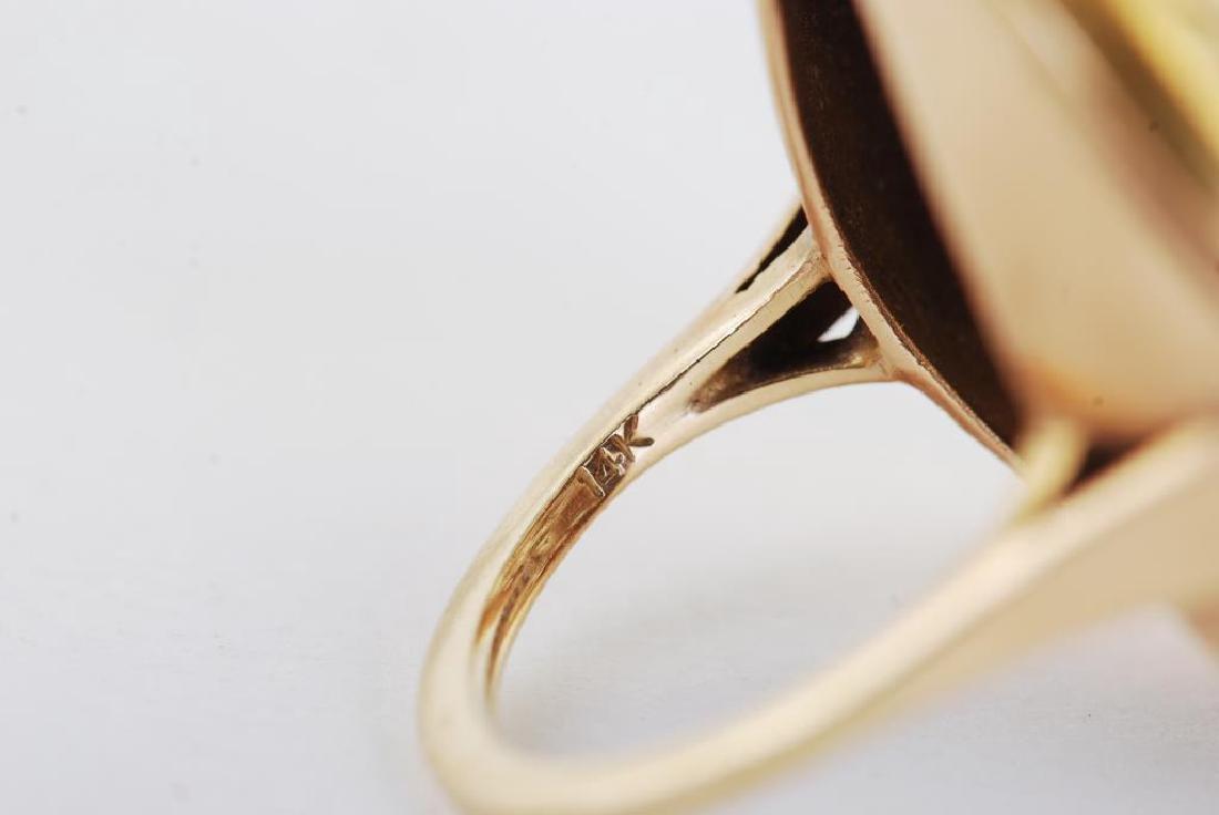 14k GOLD RING - 8
