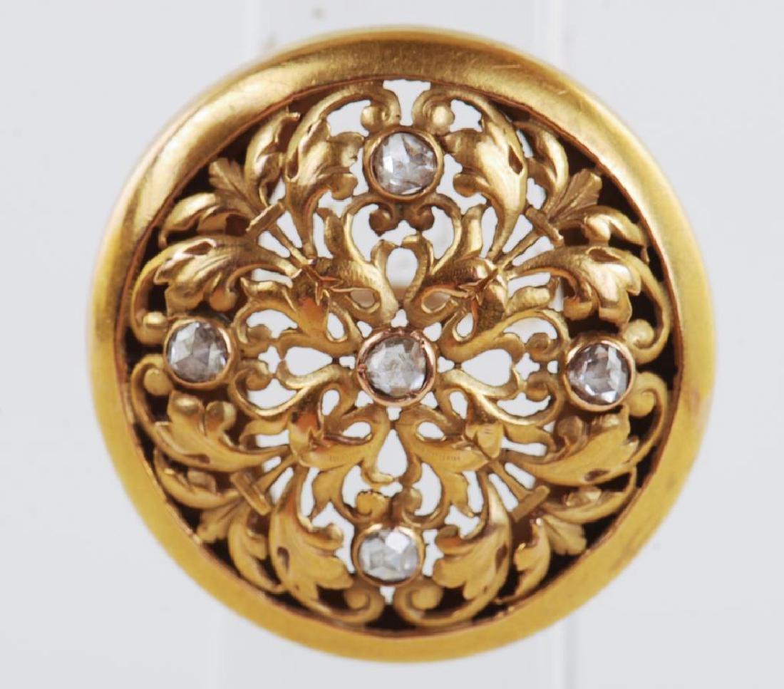 14k GOLD RING - 9