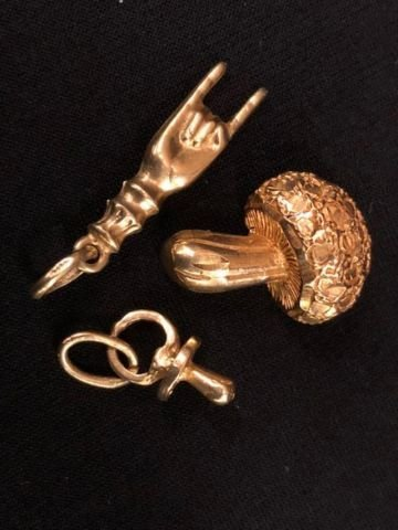 14K GOLD CHARMS - 3