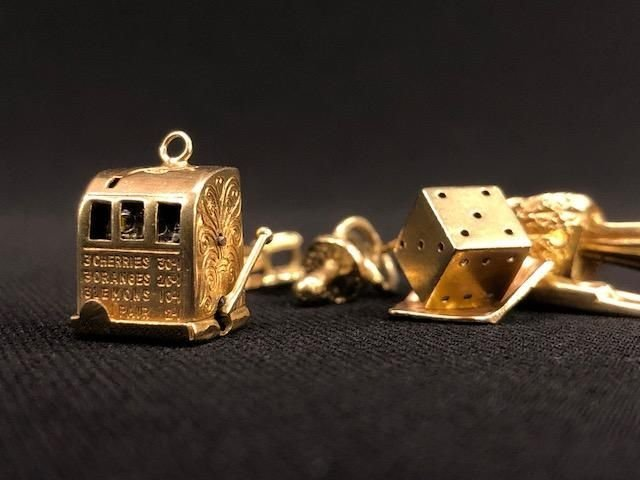 14K GOLD CHARMS - 5