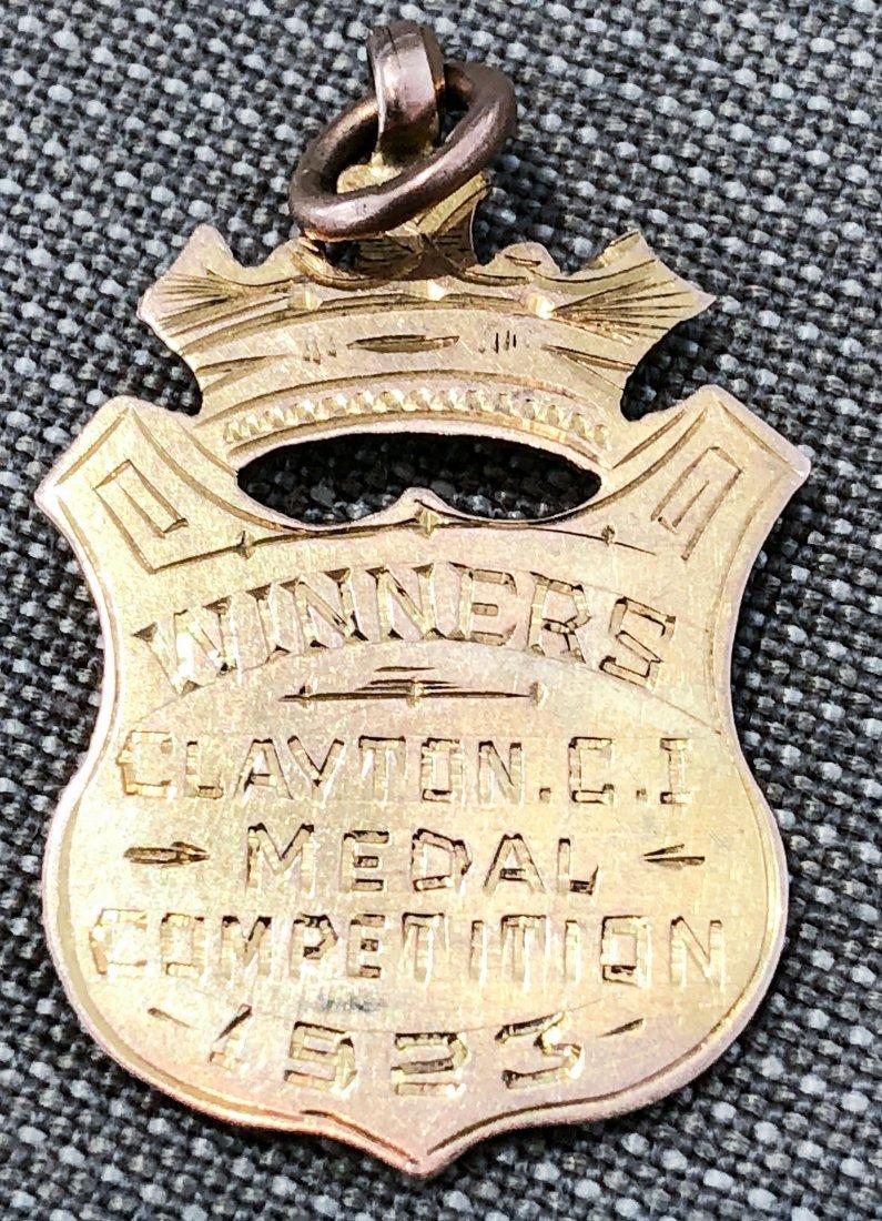 9k GOLD MEDAL FOR SOCCER 1923 - 2