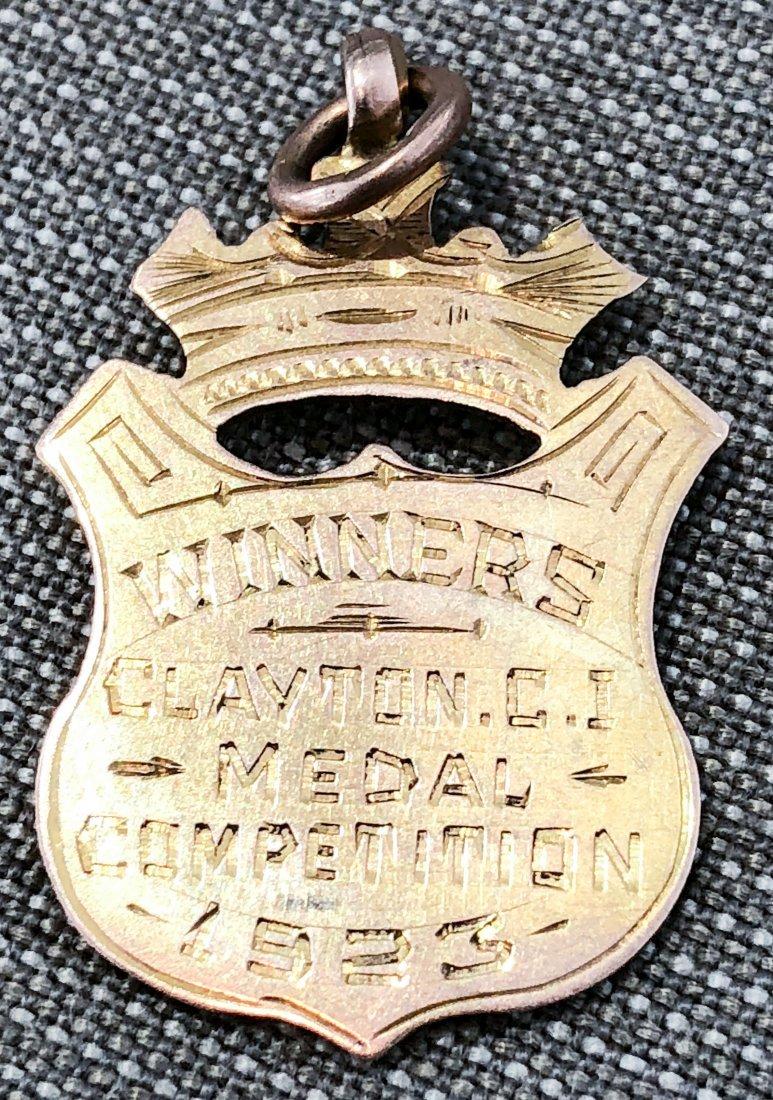 9k GOLD MEDAL FOR SOCCER 1923 - 3