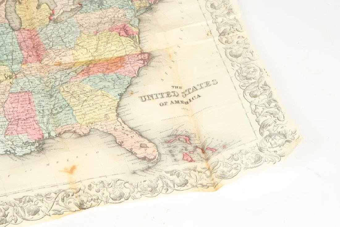 JH COLTON 1854 MAP OF THE UNITED STATES - 4