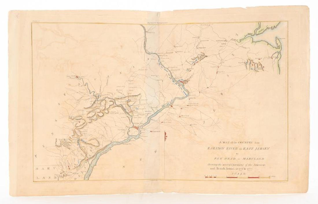 MAP of the COUNTRY from EAST JERSEY to MARYLAND