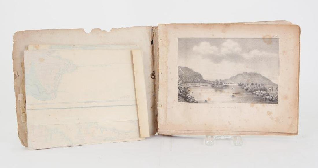 PLATES ILLUSTRATING THE GEOLOGY & SCENERY OF MA