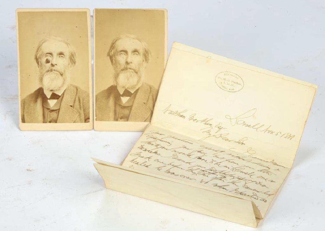 1881 DR. PARKER MEDICAL PROCEDURE for SKIN CANCER
