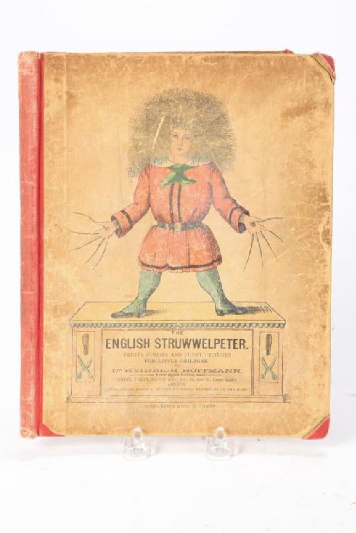 THE ENGLISH STRUWWELPETER by H. HOFFMANN